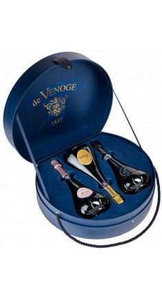 Coffret Chapeau 3 Champagnes De Venoge Princes