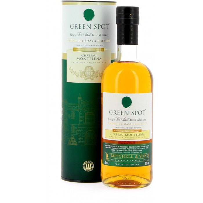 Green Spot Chateau Montelena Single Pot Still Irish Whiskey