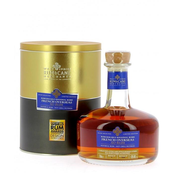 Rum and Cane French Overseas XO - Rhum - sommellerie de France