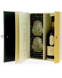 Coffret livre Whisky Lagavulin 16 ans + 2 verres