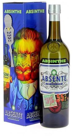 Coffret Absente 55° et sa cuillère Van Gogh