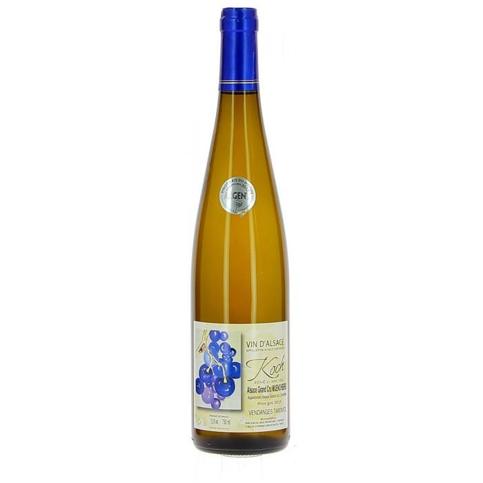 Domaine Koch Pinot Gris Vendanges Tardives - Vins en bouteilles de 75cl - sommellerie de France