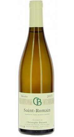 Domaine Buisson Christophe 2013 AOP Saint-Romain - Vin blanc de Bourgogne
