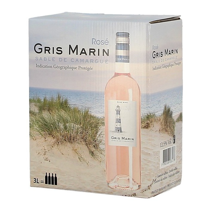 """Vin  """"Dune"""" gris"""