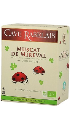 Muscat Bio de Mireval 3L