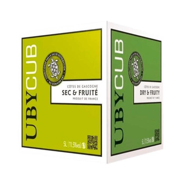 UbyCub Sec et Fruité 5L