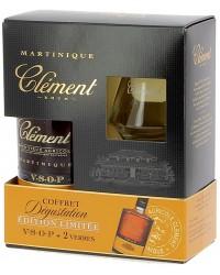 Coffret Rhum St Clément VSOP et ses verres