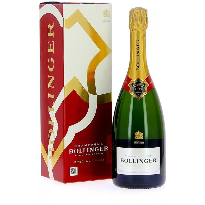 Bollinger Spécial Cuvée Brut - Champagne - sommellerie de France