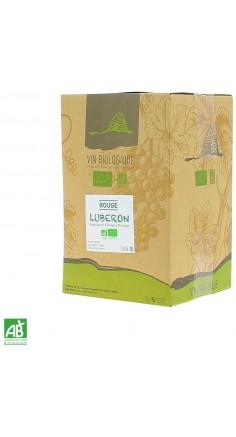 Côtes du Lubéron rouge Bio 5L