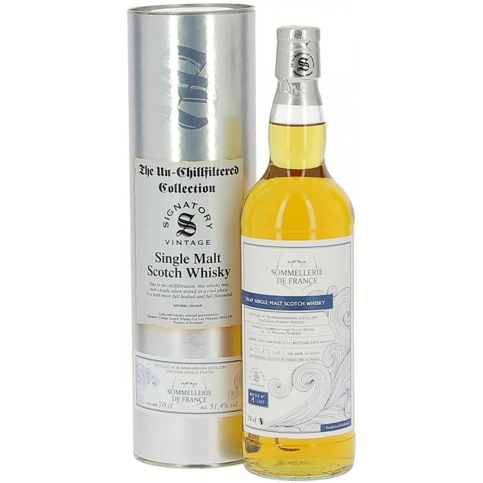 Whisky Bunnahabain millésimé Édition limitée