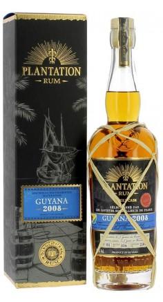 Rhum Plantation Guyana 2008 - Sommellerie de France