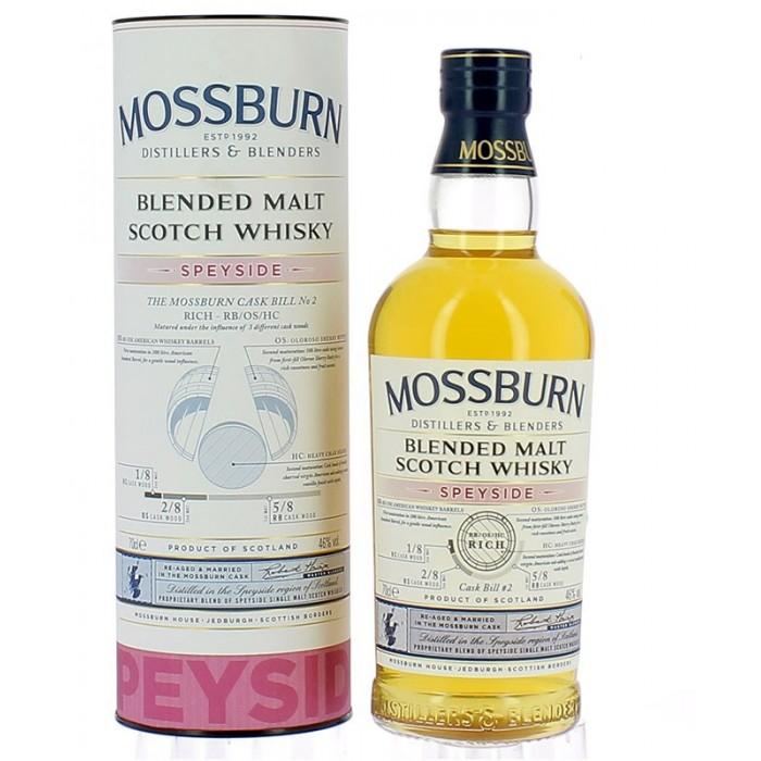 Whisky Mossburn Speyside
