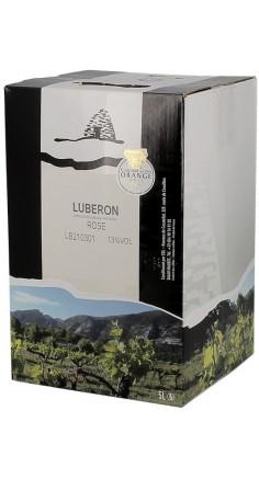 Côtes du Lubéron rosé 5L