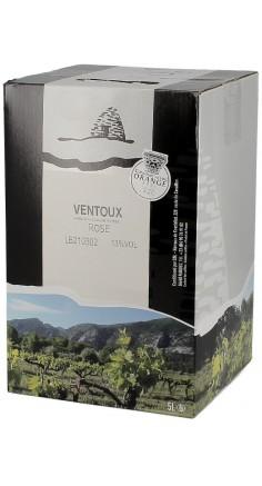 Côtes du Ventoux rosé 5L