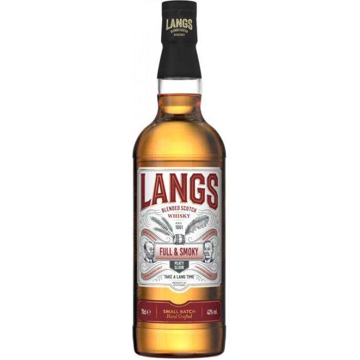 Whisky Langs full and smoky - Whisky - sommellerie de France