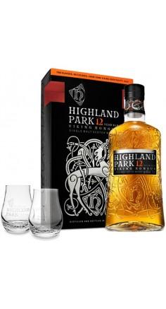 Coffret Whisky Highland Park 12 ans