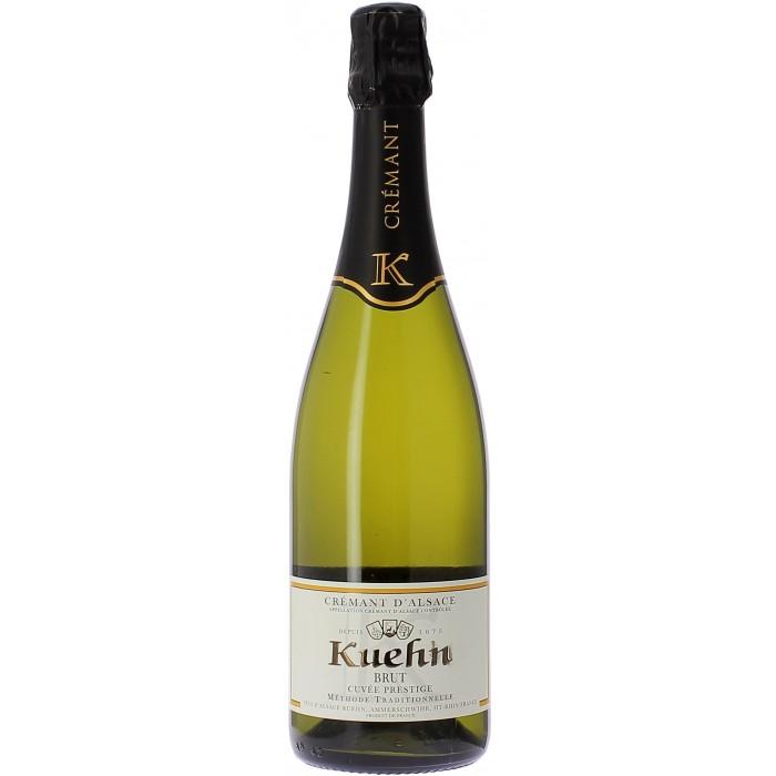 Domaine Kuehn Cuvée Prestige Brut - Champagnes & Bulles - sommellerie de France