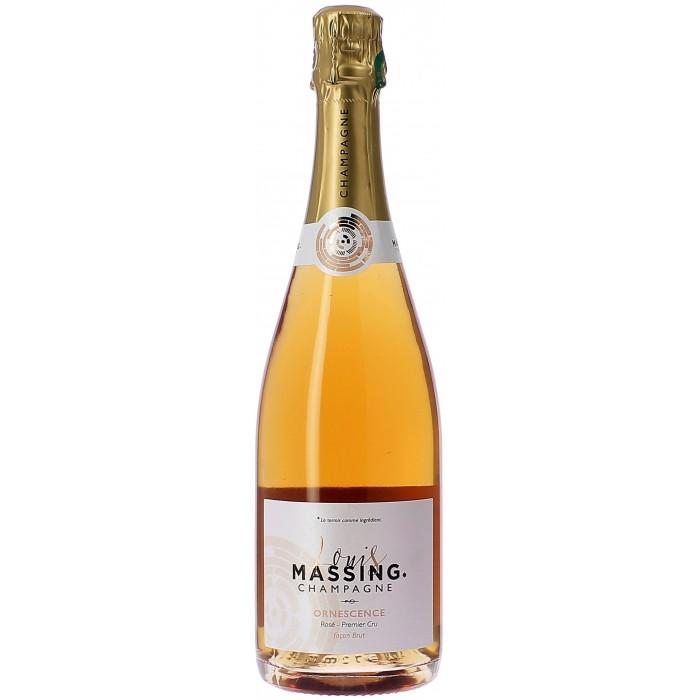 Louis Massing Ornescence rosé Premier Cru façon brut - Champagne - sommellerie de France