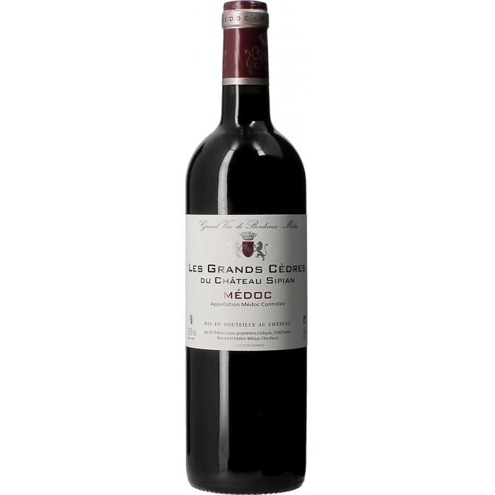Grands Cèdres du Château Sipian - Vins en bouteilles de 75cl - sommellerie de France
