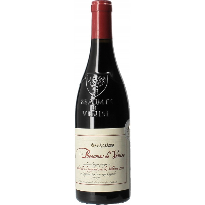 Cave de Gigondas Terrissimo - Vins en bouteilles de 75cl - sommellerie de France