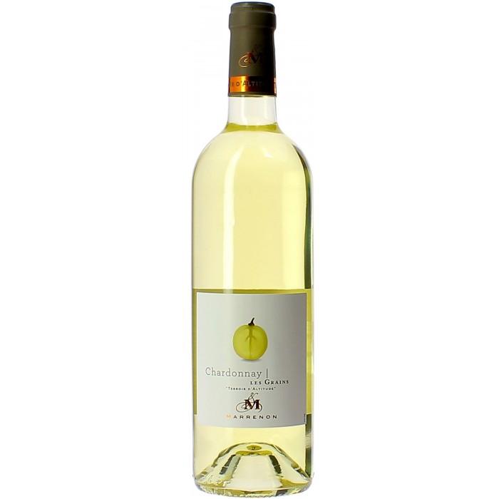 Domaine Marrenon Les Grains Chardonnay - Vins - sommellerie de France