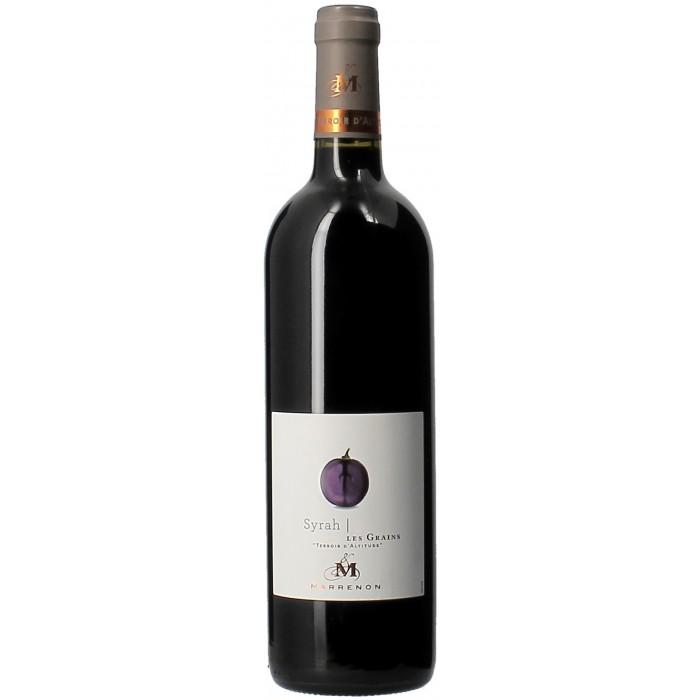 Domaine Marrenon Les Grains Syrah - Vins en bouteilles de 75cl - sommellerie de France