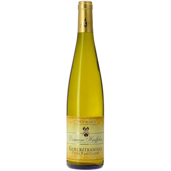 Domaine Haeffelin Cuvée Particulière - Vins en bouteilles de 75cl - sommellerie de France