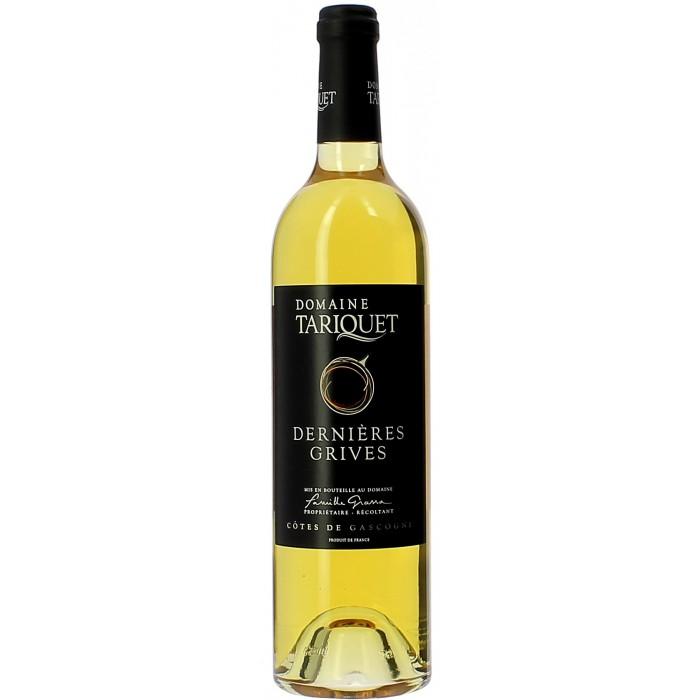 Château Tariquet Dernières Grives - Vins en bouteilles de 75cl - sommellerie de France