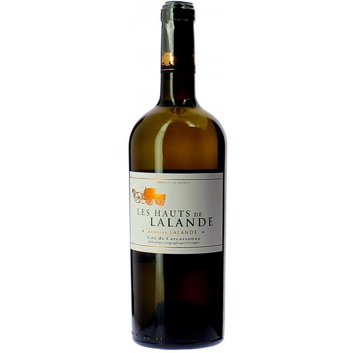 Domaine Montariol Degroote Les Hauts de Lalande blanc - Vins en bouteilles de 75cl - sommellerie de France