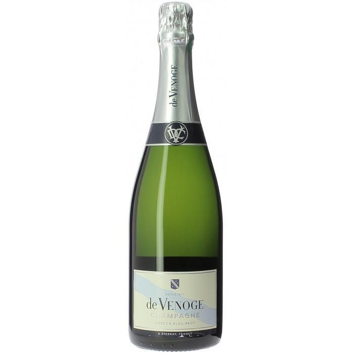 De Venoge Cordon Bleu Brut - Champagne - sommellerie de France
