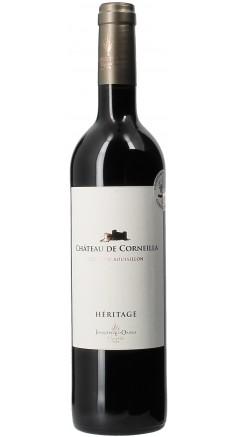 Château de Corneilla Héritage rouge AOP Côtes du Roussillon - Vin rouge du Languedoc Roussillon
