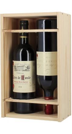 Le Bordeaux en caisse bois