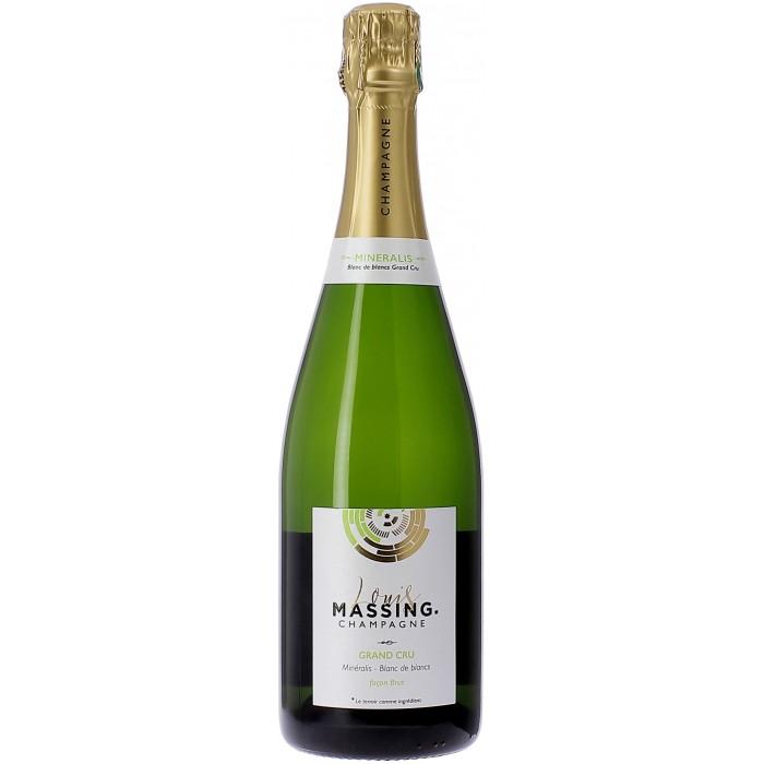 Louis Massing Mineralis blanc de blancs Grand Cru façon brut - Champagne - sommellerie de France