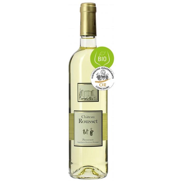 Château Rousset blanc - Vins en bouteilles de 75cl - sommellerie de France