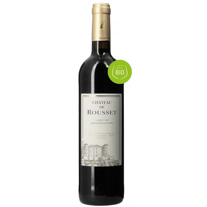 Château Rousset rouge - Vins en bouteilles de 75cl - sommellerie de France