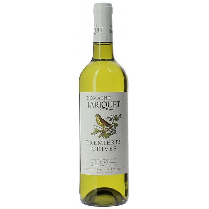 Château Tariquet Premières Grives - Vins en bouteilles de 75cl - sommellerie de France