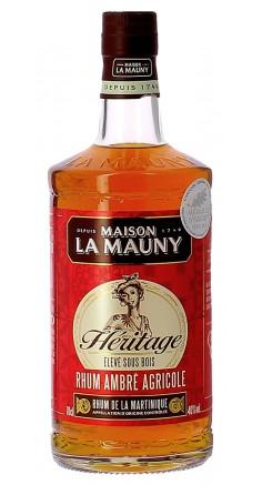 Rhum agricole La Mauny Héritage