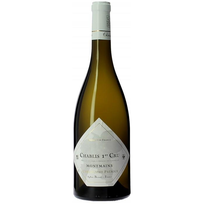 Domaine Christophe Patrice Chablis 1er cru Montmains - Vins en bouteilles de 75cl - sommellerie de France