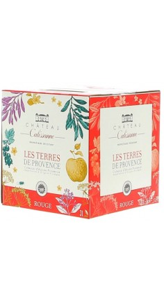 Les Terres de Provence rouge 3L
